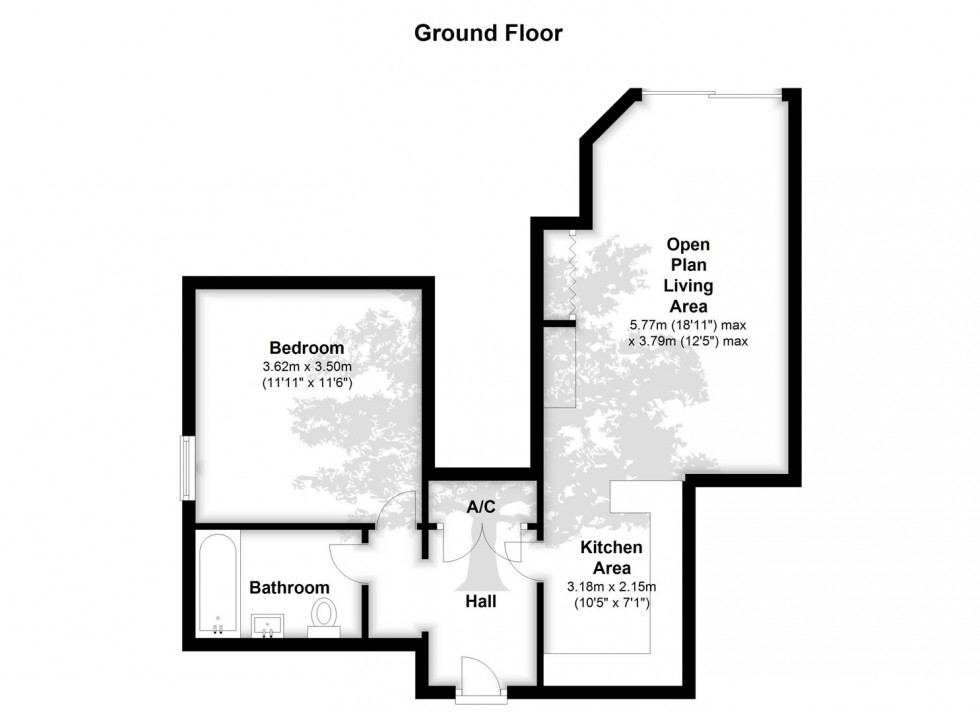 Floorplan for Knoll Hill, Sneyd Park