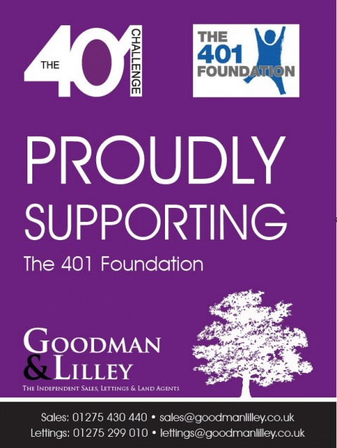 Proudly supporting the 401 Foundation